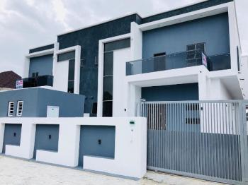 Brand New 4 Bedroom Semi Detached with Bq, Osapa, Agungi, Lekki, Lagos, Semi-detached Duplex for Sale