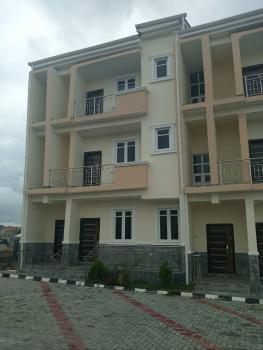 a Well Finished Terrace Duplex Finished with Contemporary Fittings. The Quoted Price Is Inclusive of Service Charges, Guzape District, Abuja, Terraced Duplex for Rent