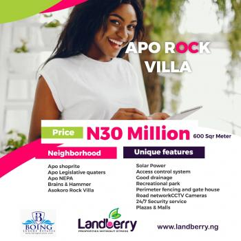 Land, Asokoro Extension, Asokoro District, Abuja, Mixed-use Land for Sale