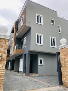 Newly Finished 4 Bedroom Luxury Detached Townhouse with a Domestic Quarter, Off Kushenla Road, Ikate Elegushi, Lekki, Lagos, Detached Duplex for Sale