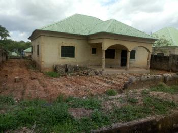 Spacious 80% Completed Carcass of 4 Bedroom. Roofed, Plastered, Windows and Doors Fixed in and Out of The Building, Galadimawa, Abuja, Detached Bungalow for Sale