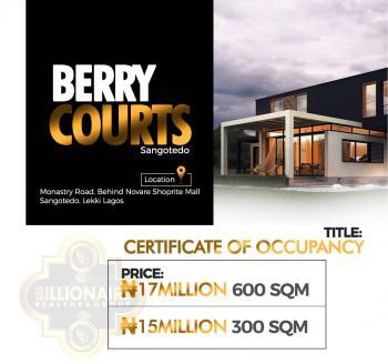 Berry Court, Sangotedo, Lagos Island, Lagos, Residential Land for Sale