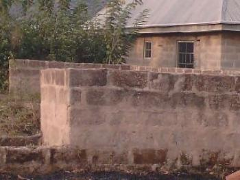 a Landed Property with 2bedroom Flats (uncompleted) @ Windows Level @ Triangle Junction Not More Than 3 Poles to Express Way @ D Heart of Ado Ekiti Is Available for Sale, Olorunda/ikingbinsi Quarters, Ado-ekiti, Ekiti, Detached Bungalow for Sale