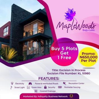 #650,000 Land at Ibeju... Buy 5 Get 1 Free, Igbogun, Folu Ise, Ibeju Lekki, Lagos, Mixed-use Land for Sale