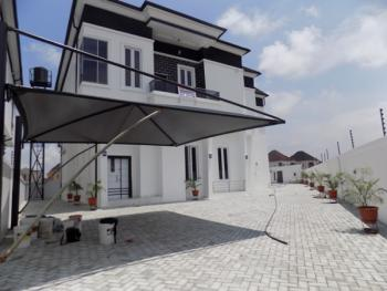 Tastefully Finished 5 Bedroom Fully Detached Duplex with Bq ,very Massive Compound Space Could Park 9 Cars Comfortably, Chevron Drive, Chevy View Estate, Lekki, Lagos, Detached Duplex for Sale