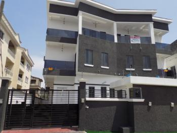 Luxury and Tastefully Finished 4 Bedroom Semi Duplex with 3 Sitting Rooms and a Bq, Prime for Commercial and Residential, Ldado Estate, Lekki, Lagos, Semi-detached Duplex for Sale