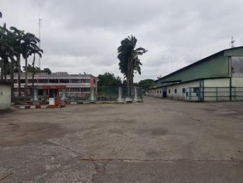 an Industrial Land Measuring 100,000 Square Meters Having Office Structure, Residential Structures , Canteen, Lawn Tennis Court, Universal Steel Close Off Surulere Avenue., Ogba, Ikeja, Lagos, Factory for Sale