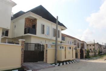 Brand New 4 Bedroom Semi Detached Duplex with 1 Bq, Chevron Drive, By Chevron Head Office, Lekki, Lagos, Semi-detached Duplex for Sale