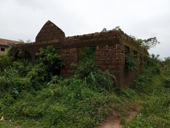 a Land of 50ft By 100ft with an Uncompleted 4 Bedrooms Bungalow, Agbor Park, Ikponba Hill., Benin, Oredo, Edo, Detached Bungalow for Sale
