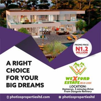 Wexford Estate Land, Orimedu, Ibeju Lekki, Lagos, Residential Land for Sale