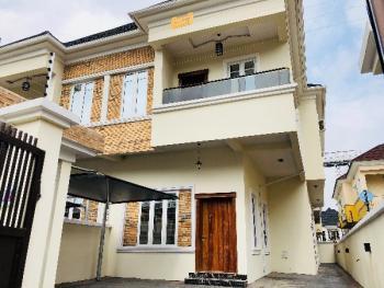 Brand New 4 Bedroom Duplex with a Room Bq, Bera Estate, Chevy View Estate, Lekki, Lagos, Semi-detached Duplex for Rent