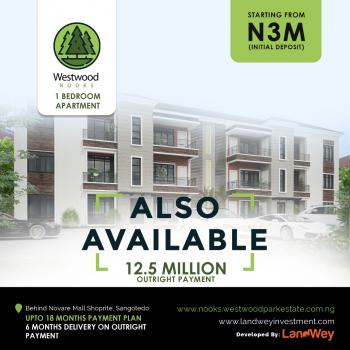 1 Bedroom Apartment, Along Novare Lane, at Westwood Estate, Sangotedo, Ajah, Lagos, Semi-detached Duplex for Sale
