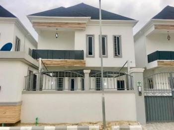 Brand New 4 Bedroom Fully Detached Duplex with Bq. Serviced with 22hrs Power., 2nd Toll Gate, Lafiaji, Lekki, Lagos, Detached Duplex for Rent