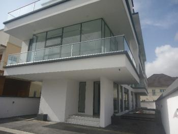 Nicely Built 4 Bedroom Detached Duplex with 1 Room Bq, Pinnock Estate, Osapa, Lekki, Lagos, Detached Duplex for Sale
