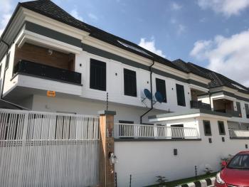 Top Notch 4 Bedroom Semi Detached with Bq (self Serviced), Chervon, Lafiaji, Lekki, Lagos, Semi-detached Duplex for Sale
