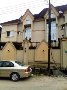 Clean 4 Bedroom Semi Detached Duplex with a Room Bq, Adelabu, Surulere, Lagos, Semi-detached Duplex for Sale