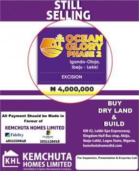 Dry and Affordable Land, Igando, Oloja, Eleko, Ibeju Lekki, Lagos, Commercial Land for Sale