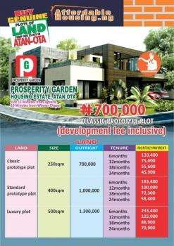 Land, 10 Minutes From Winners Chapel, Atan Ota, Ado-odo/ota, Ogun, Mixed-use Land for Sale