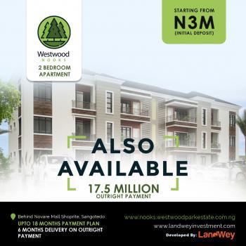West Wood Nooks, 2 Bedroom Apartment., Behind Novare Mall, Shoprite,sangotedo., Sangotedo, Ajah, Lagos, Terraced Duplex for Sale