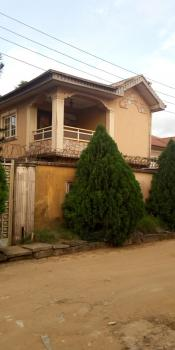 a Neat 4 Bedroom Duplex with Pop & Kitchen Cabinet, Starcomms Estate, Berger, Arepo, Ogun, House for Rent