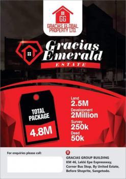 Gracias Emerald, Off Rainoil, Abijo, Lekki, Lagos, Residential Land for Sale