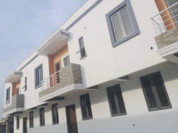 Brand New Neatly Finished 3 Bedroom Terrace  Duplex with Bq in a Secured Estate, Chevron Drive, Lekki Expressway, Lekki, Lagos, Terraced Duplex for Sale