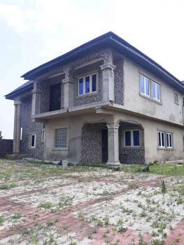 Semi Detached 4 Bedroom Duplex with 2 Bedroom Flats, Alamala Bus Stop Baiyeku, Igbogbo, Ikorodu, Lagos, Semi-detached Duplex for Sale