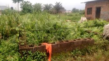 Half Plot of Land, Behind Lucky Fibre Fence, Total Filling Station, Itokin Road, Ikorodu, Lagos, Land for Sale
