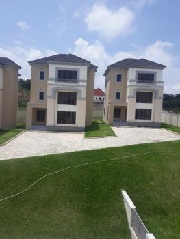 Brand New 4 Bedroom Fully Detached Serviced Duplex with a Bq, Asokoro District, Abuja, Detached Duplex for Rent