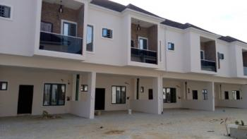 4 Bedroom Duplex Serviced with 24-hr Power Supply, Orchid Road in an Estate, Lekki, Lagos, Terraced Duplex for Sale