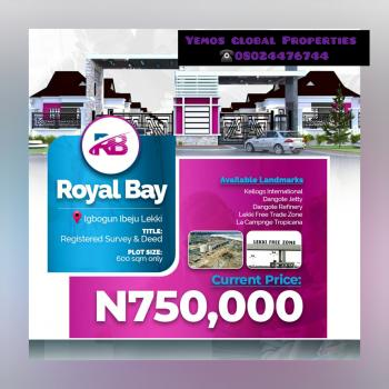 Royal Bay Estate, Ibeju Lekki Lagos, Outter Part of Igbogun Road, Folu Ise, Ibeju Lekki, Lagos, Residential Land for Sale