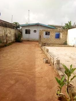 Decent 3 Bedroom Setback on More Than Half Plot, Elero Street, Lasu Iba Rd, Akesan, Alimosho, Lagos, Detached Bungalow for Sale