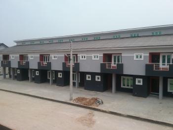 Tastefully Built 3 Bedroom Terrace Duplex ( Carcass), Opic, Isheri North, Ogun, Terraced Duplex for Sale