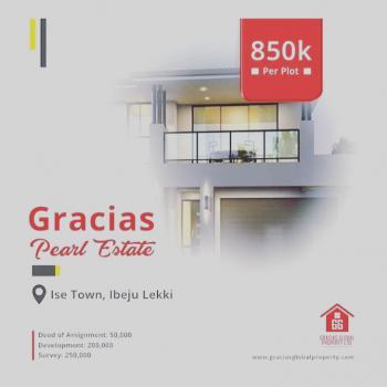 Gracias Peal Estate, Just 2 Miniute Drive From Dangote Regfinery, Akodo Ise, Ibeju Lekki, Lagos, Residential Land for Sale