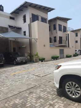4 Bedroom Townhouse Sitting on Two Floors with an Attached Bq., Lekki Phase 1, Lekki, Lagos, Terraced Duplex for Sale