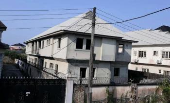 Partly Finished Block of Four (4) Units of Three (3) Bedroom Apartments, Badore, Ajah, Lagos, Block of Flats for Sale