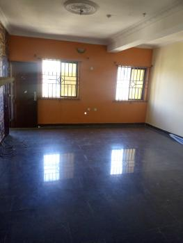 Living Room Upstairs in a Flat Shared, Igbo Efon, Lekki, Lagos, Self Contained (single Rooms) for Rent