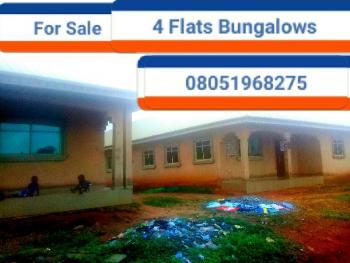 2 Blocks of 4 Flats, Ebo, Ihirihi, Airport Road, Benin, Oredo, Edo, Block of Flats for Sale