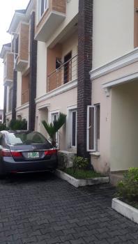Beautifully Built 4 Bedroom Terrace with Bq, Osapa, Lekki, Lagos, Terraced Duplex for Rent