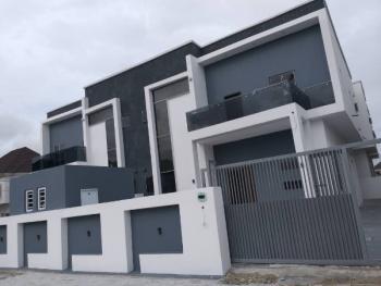 Brand New 4 Bedroom Semi Detached Duplex with Bq + Top Notch Access Control Devices, Agungi, Lekki, Lagos, Semi-detached Duplex for Sale