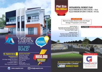 Vertical Garden Affordable Land, Behind Asaba Airport, and Second Niger Bridge Proposed Link Road., Asaba, Delta, Residential Land for Sale