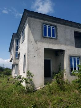 4 Bedroom Duplex Carcass Built on 450sqm of Land with 24 Hours Light, Adiva / Beachwood Estate, Ibeju Lekki, Lagos, Detached Duplex for Sale