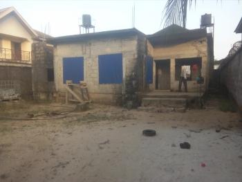 an Uncompleted House in a Well Developed Neighborhood, Prince Ogele Street, By Fresh Fire Ministry, Rumuodara, Port Harcourt, Rivers, Detached Duplex for Sale