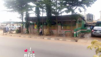 Functioning Bar with Toilet and Kitchen Along Major Rd Also Suitable for Gas Station, Isheri Olofin, Alimosho, Lagos, Shop for Sale
