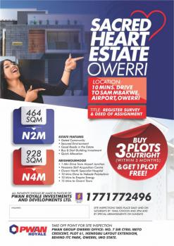 Lands, Airport Junction Close to Ulakwo, Ngor Okpala, Imo, Residential Land for Sale