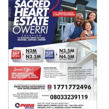 Lands, Airport Junction, Ngor Okpala, Imo, Residential Land for Sale