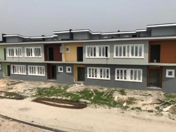 Newly Built 3 Bedroom Terrace Duplex (all Rooms Ensuite + Guest Toilet and an Additional Bq), Oribanwa, Ibeju Lekki, Lagos, Terraced Duplex for Sale