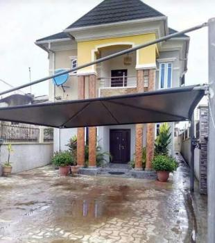 Spacious Newly Built 4 Bedroom Duplex with a Mini Flat Behind on Half Plot of Land with Standard Finishing, Iju-ishaga, Agege, Lagos, House for Sale