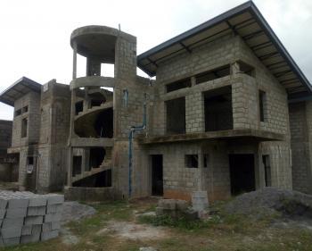 Full Detached 9 Bedroom Mansion Duplex with Underground Cinema, Wuye, Abuja, Detached Duplex for Sale