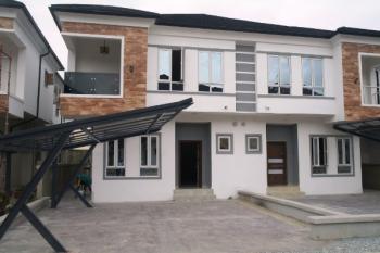 Tastefully Finished 4 Bedroom Semi Detached Duplex with a Room Bq, Chevron Drive, Behind Chevron Head Office, Lekki Phase 2, Lekki, Lagos, Semi-detached Duplex for Sale